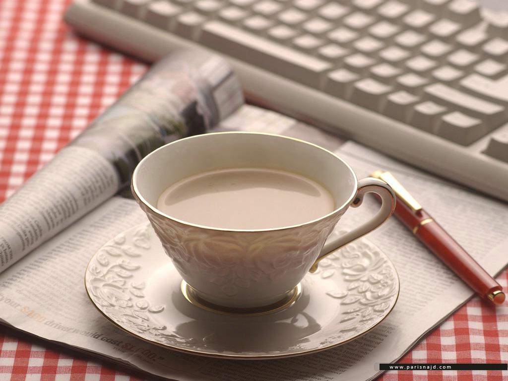 тема для утренний чай с газетой и молоком фото проблемой при